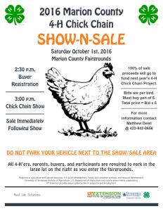 2016 CC Show-Sale Flyer